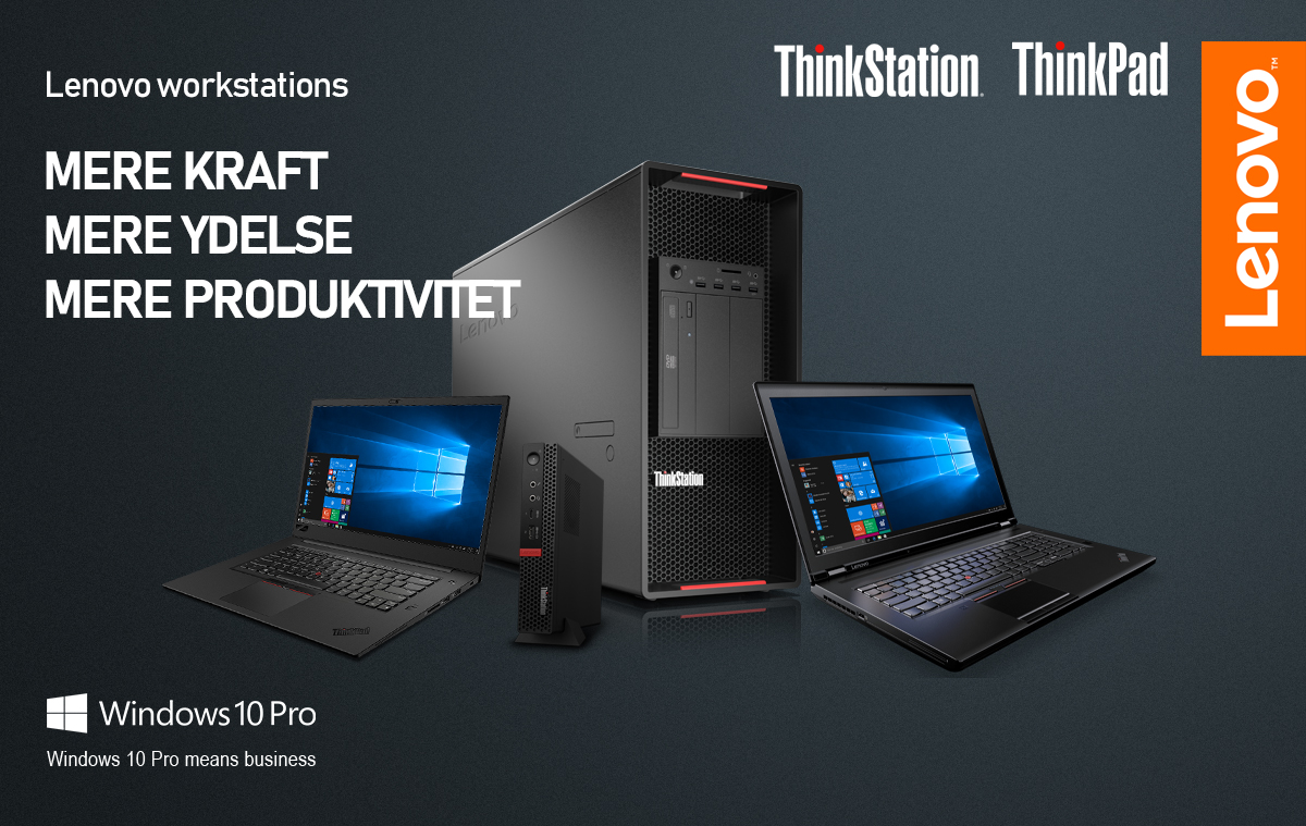 Kampagne - Lenovo Workstations